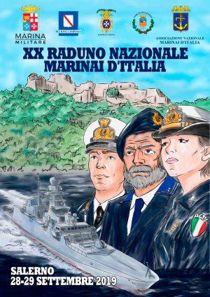 Manifesto Raduno di Salerno 2019