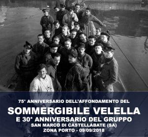 commemorazione del sommergibile velella