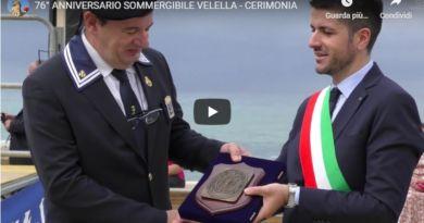 Video: Commemorazione Sommergibile Velella 2019